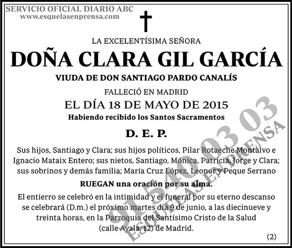 Clara Gil García